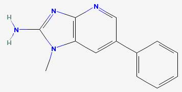 Phenyl IP 2-amino-1-methyl-6-phenylimidazo(4,5-b)pyridine